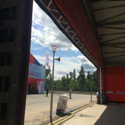 откатные противопожарные ворота