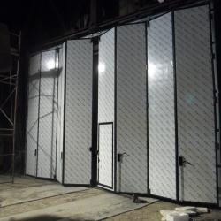 откатные противопожарные ворота в Караганде